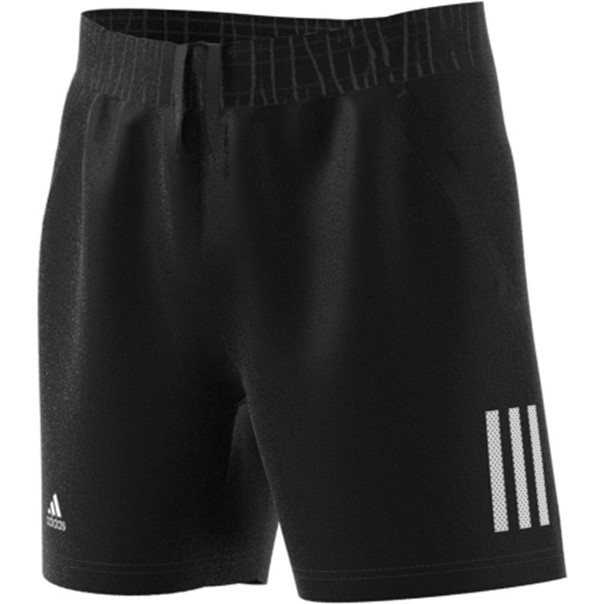 Adidas Boys Club 3STR Fall Short   Black/White