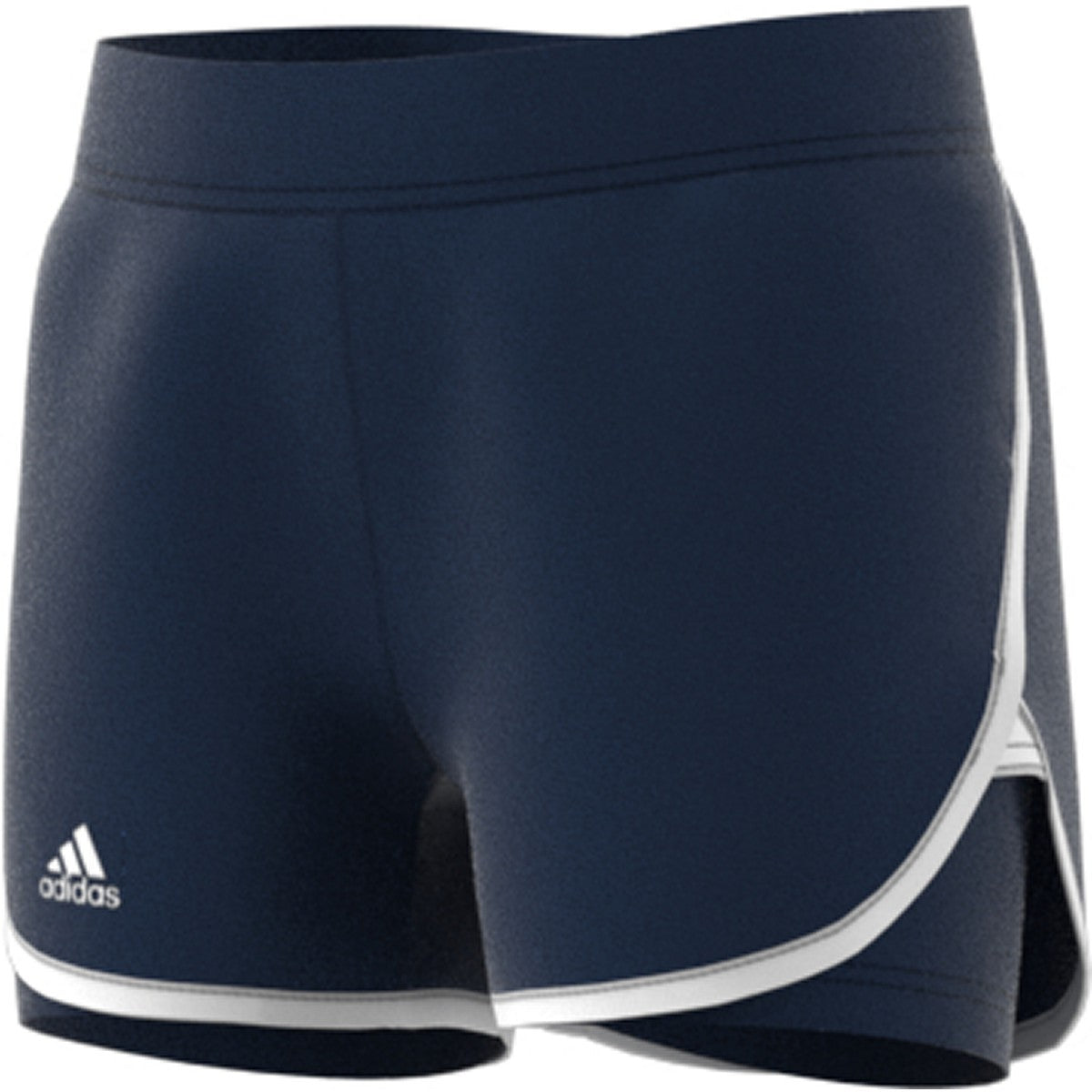 Adidas Girls Fall Club Short   Collegiate Navy