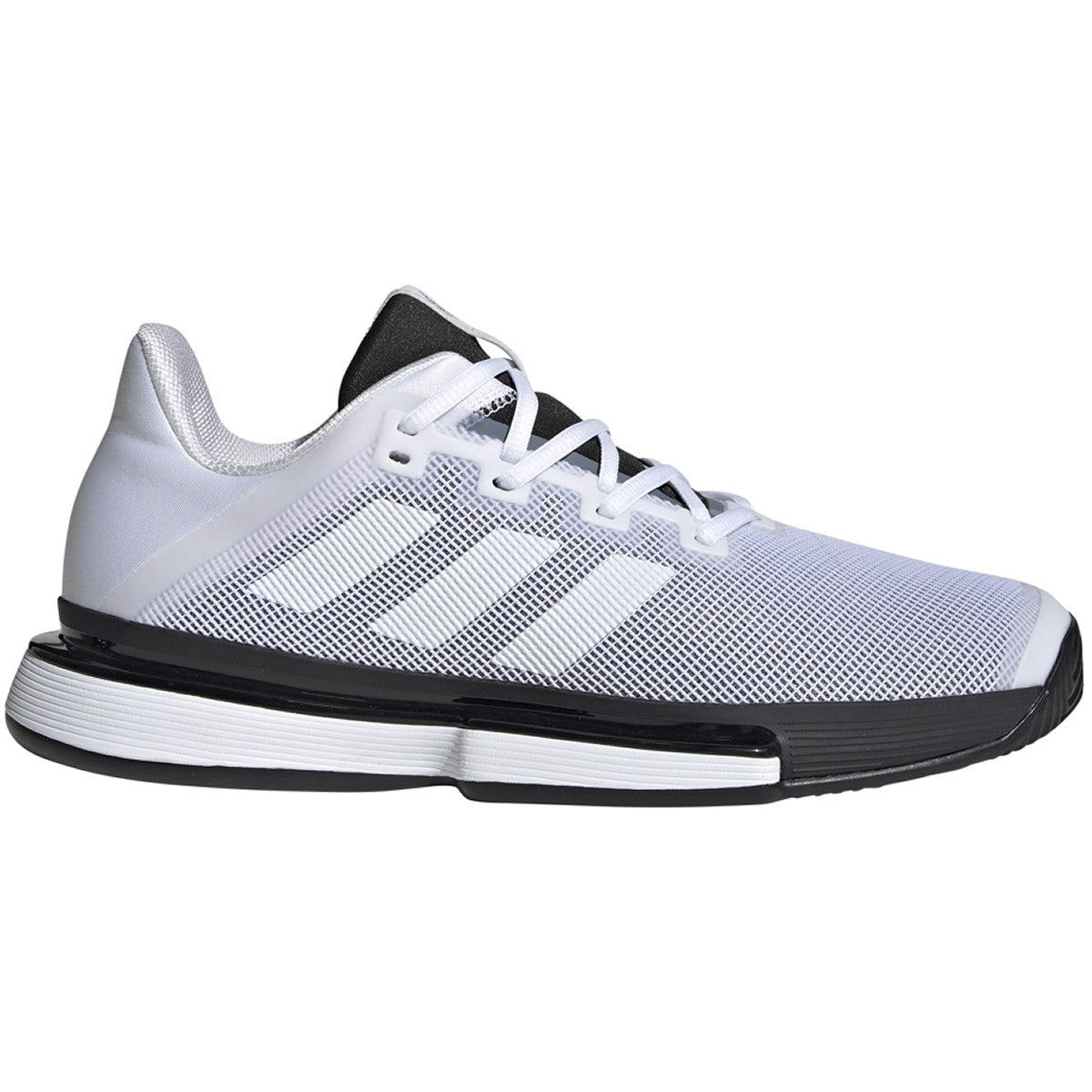 Mens SoleMatch Bounce White/Balck