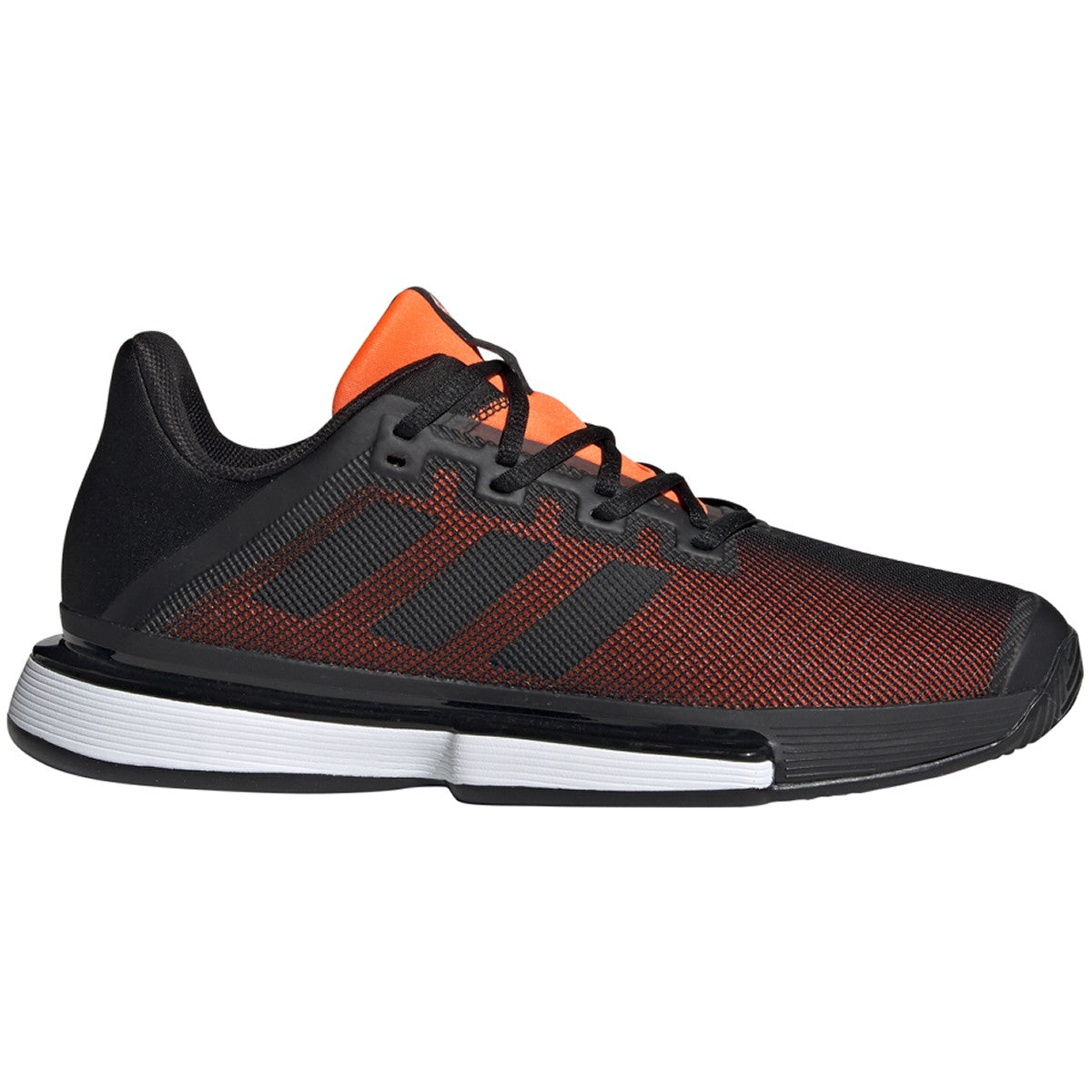 Adidas Mens Solematch Bounce Blk/Orange