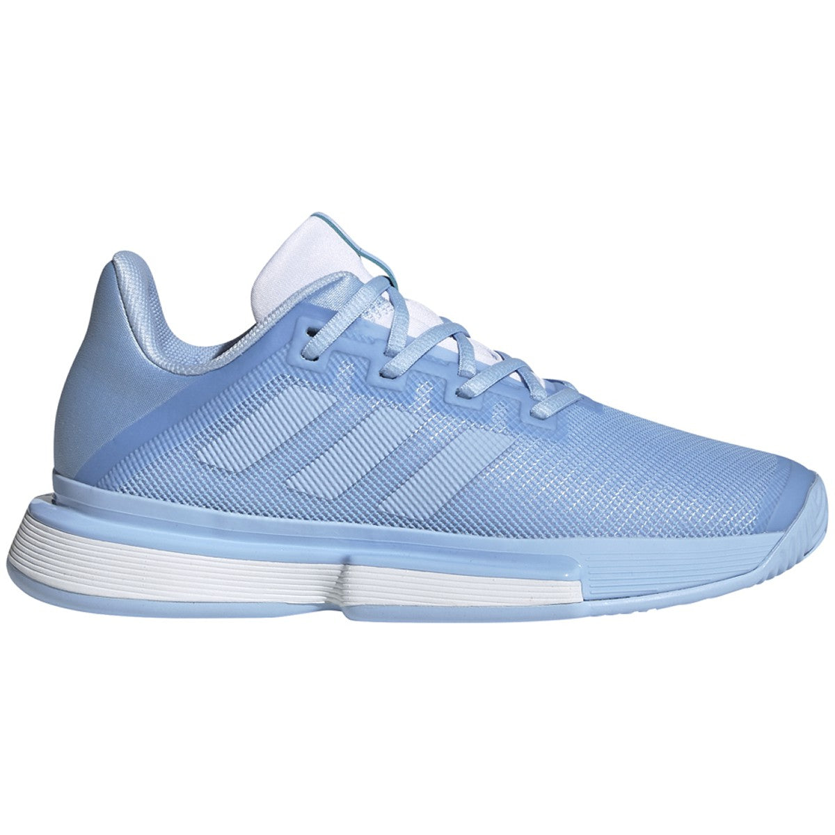 Adidas SoleMatch Bounce   Blue/White