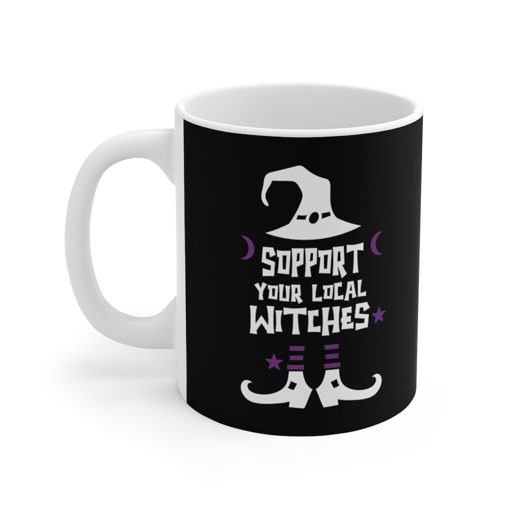 Support Your Local Witches Halloween Coffee Mug