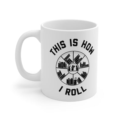 This is How I Roll - Funny Book Lover Coffee Mug