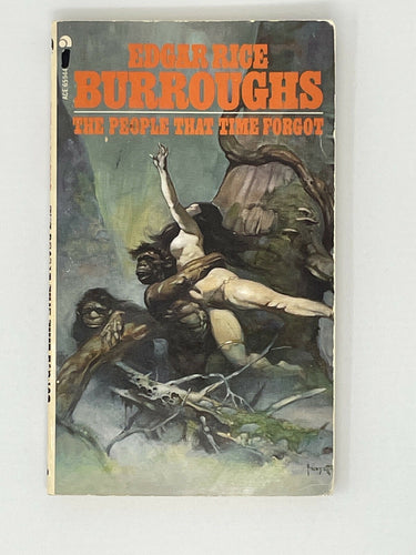 Edgar Rice Burroughs  The People that Time Forgot   Paperback 1973