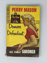 Load image into Gallery viewer, The Case of the Demure Defendant by Erle Stanley Gardner - Perry Mason - 1st pb