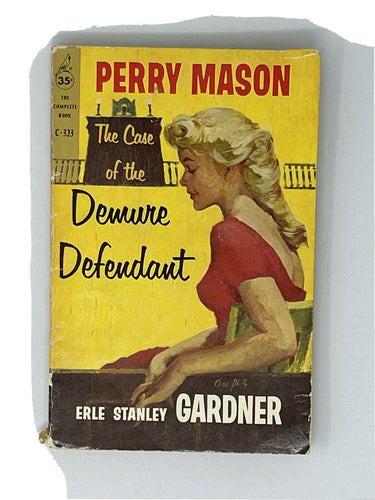 The Case of the Demure Defendant by Erle Stanley Gardner - Perry Mason - 1st pb