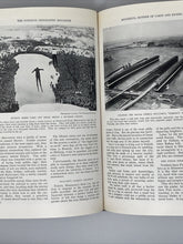 Load image into Gallery viewer, 1935 National Geographic Magazine Albrecht Bound Vol 67 Jan.-June Index Globe