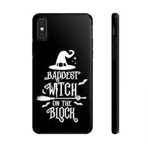 Baddest Witch on The Block Halloween Tough Phone Case