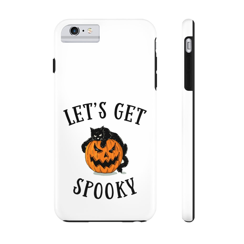 Let's Get Spooky Funny Halloween Tough Phone Case
