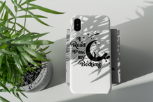 Load image into Gallery viewer, I Read Past My Bedtime - Book Lover Tough Phone Case