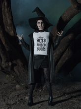 Load image into Gallery viewer, This Witch Can Be Bribed With Books - Funny Halloween Book Lover T-Shirt