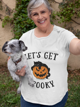 Load image into Gallery viewer, Let's Get Spooky Funny Halloween Unisex T-Shirt