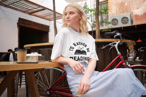 I'd Rather Be Reading - Funny Book Lover Unisex T-Shirt