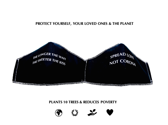 Tree planting reusable masks