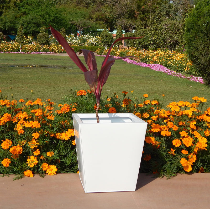 Midland 12 inches Square Tapered Planter