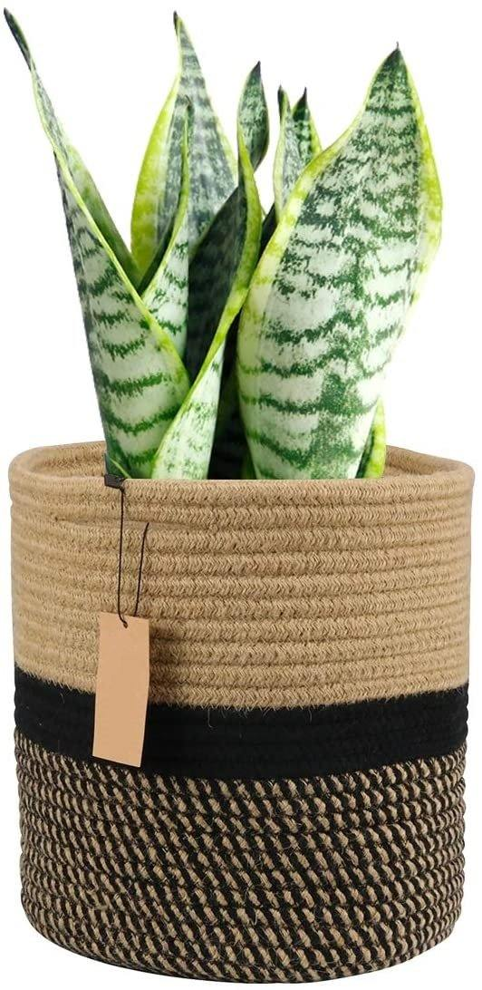 Cotton Rope Plant Basket