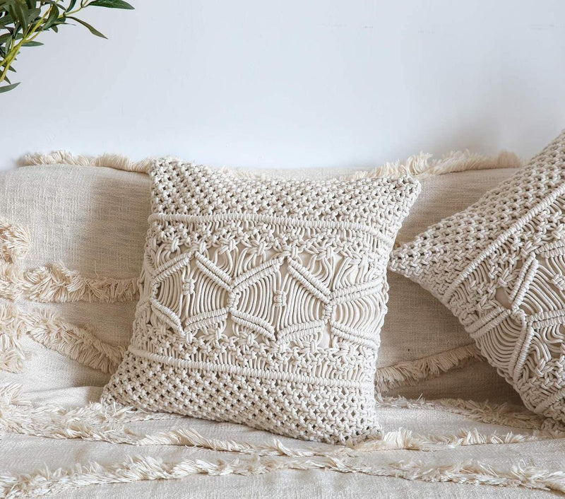 Macrame Boho Cushion Cover