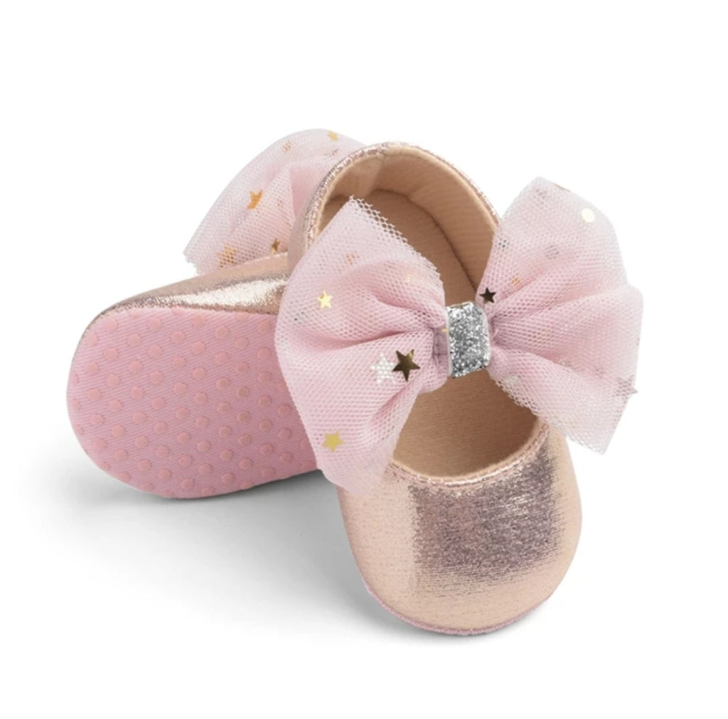 Girls Bow-Knot Shoes