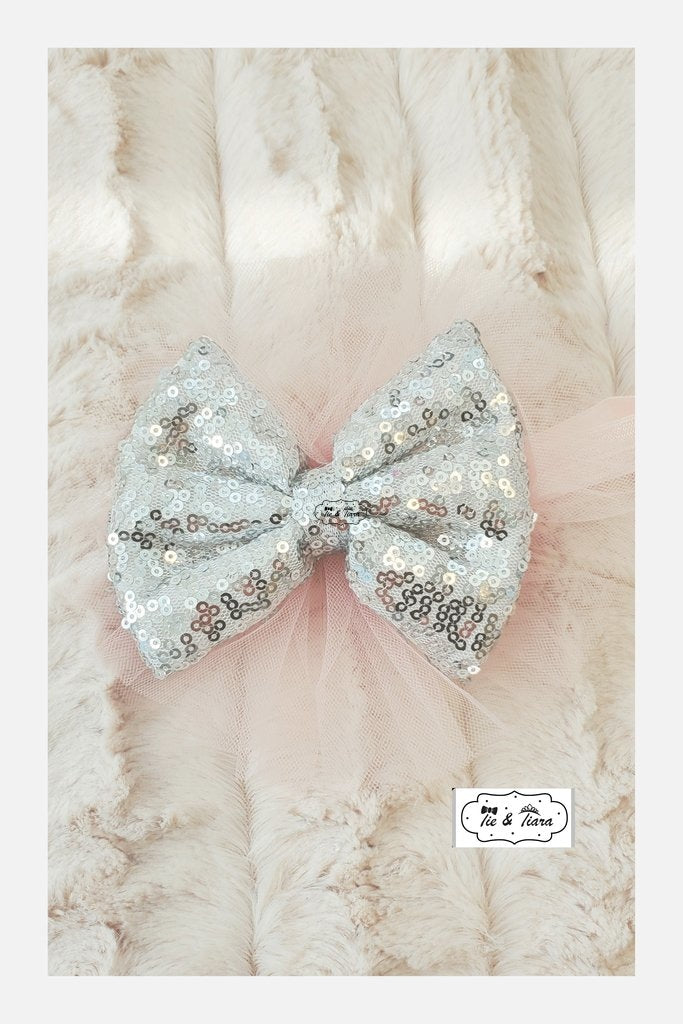 Tulle Headband Silver Accessories