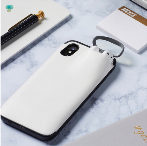 Coque iPhone Chargeur Airpods