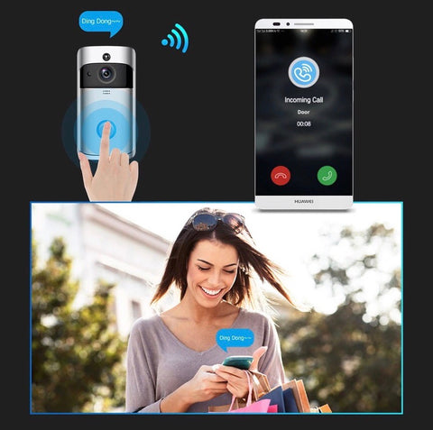 SmartDx - Interphone camera wifi intelligente
