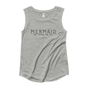Ladies' Mermaid Cap Sleeve T-Shirt