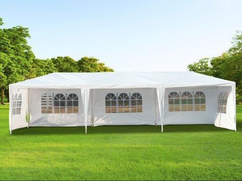 10x30 Ft Party Gazebo Canopy Tent With 5 Removable Walls