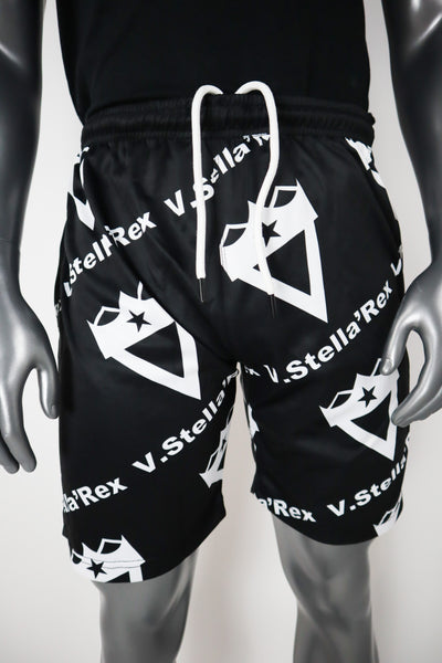 All-Over Logo Shorts