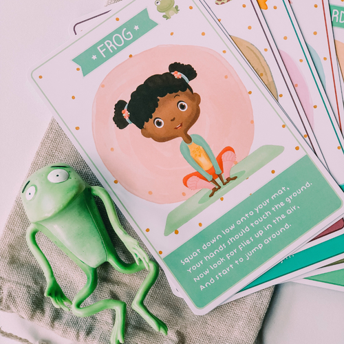 Mindful Munchkins Yoga Cards for Kids