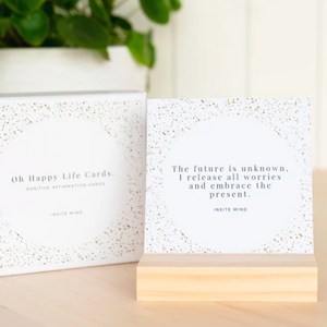 Oh Happy Life Affirmation Cards
