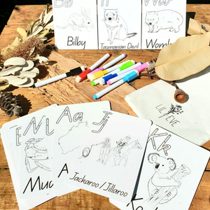 Write and Wipe Alphabet Cards
