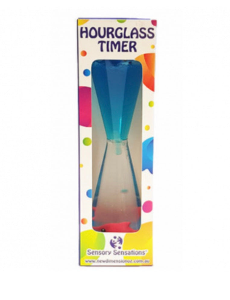Hourglass Timer with Dolphins