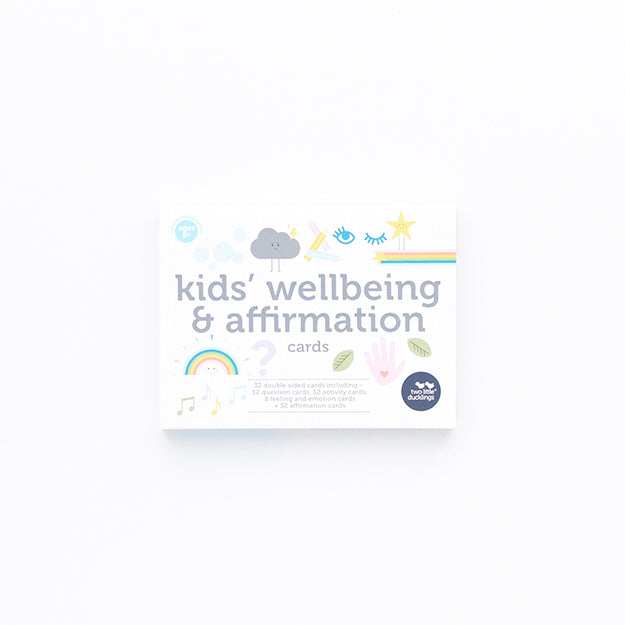 Kids Wellbeing & Affirmation Flash Cards