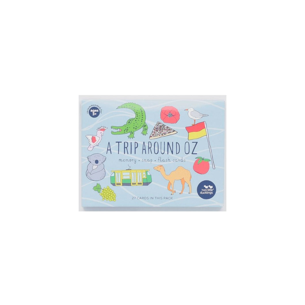 A Trip Around Oz Snap and Memory game