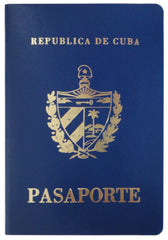 passport holder cuba