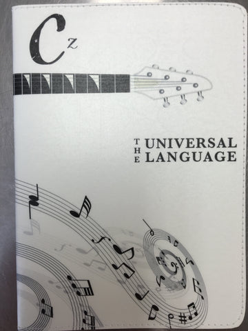 Musical Notes Passport Holder by 11:11 Enterprises