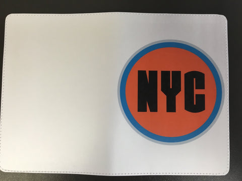 New York City NYC Passport Holder Design for Travel, made by 11:11 Enterprises