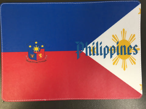 Philippines Flag Emblem Passport Cover Design made by 11:11 Enterprises for Zazzle Customer