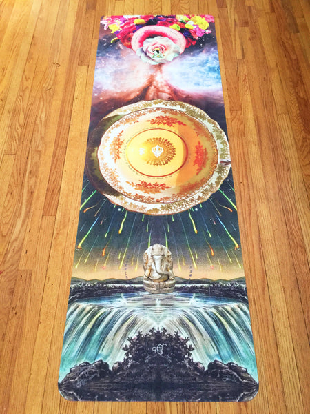Celestial Teacup * Starwater Yoga Mat by 11:11 Enterprises