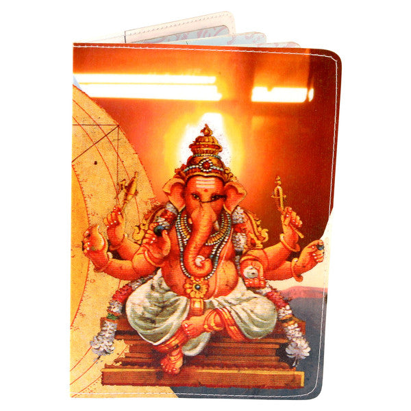 Ganesha remover of obstacles passport holder