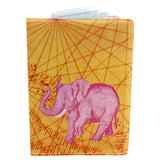Pink Passport Holder featuring the Pink Elephant