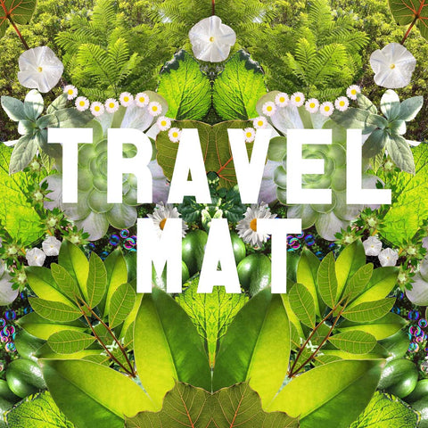 Green Prana Mandala * Starwater TRAVEL yoga mat