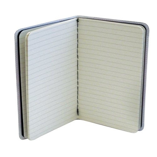 White Horse Small Covered Moleskine Notebook