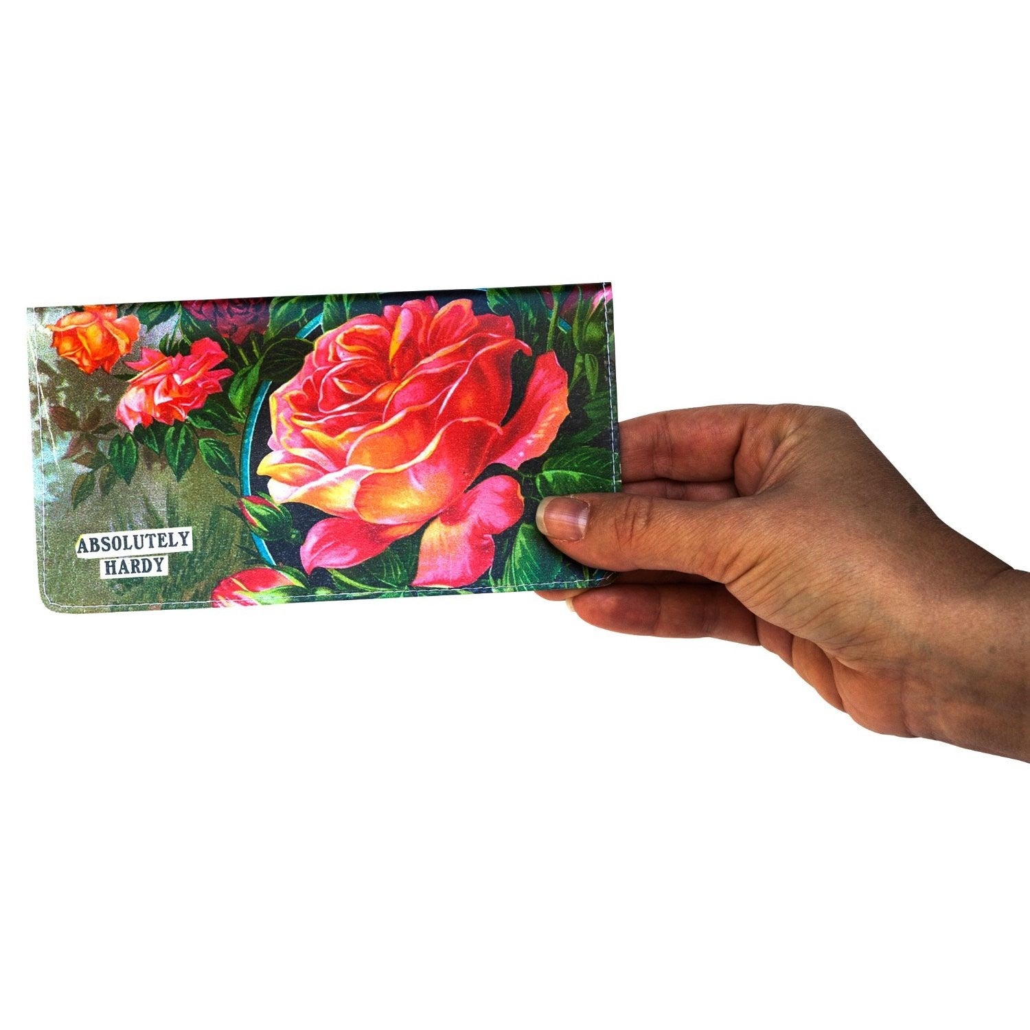 Rose Plants Checkbook Cover