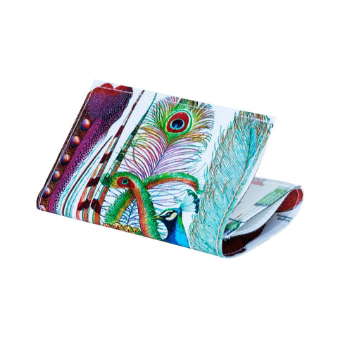 Family Money Tree Tri-Fold Wallet