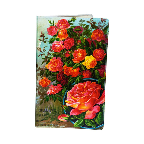 Rose Plants Large Moleskine Cahier Notebook