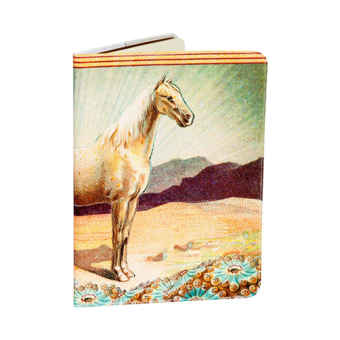 White Horse Extra Large Moleskine Cahier Covered Notebook