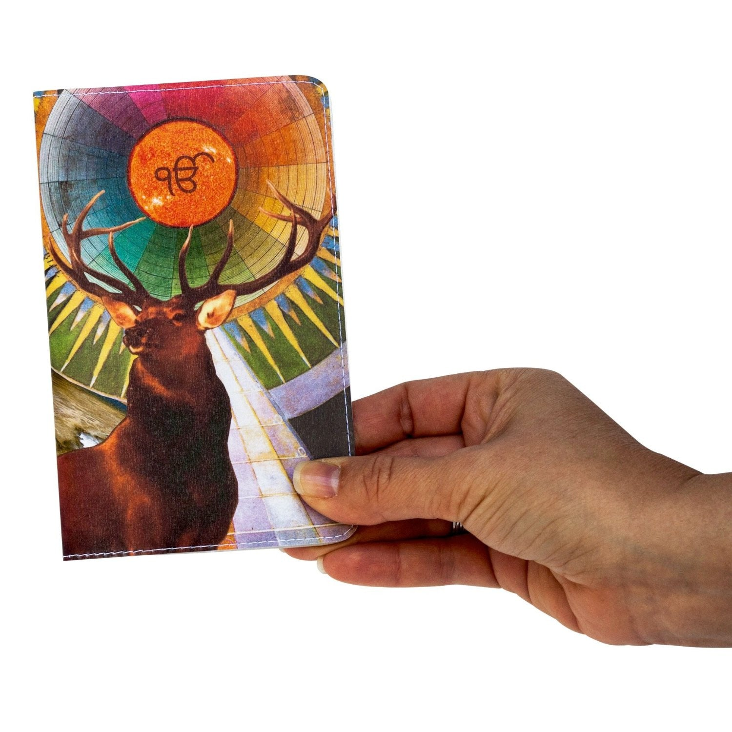 Radiant Buck Small Covered Moleskine Notebook