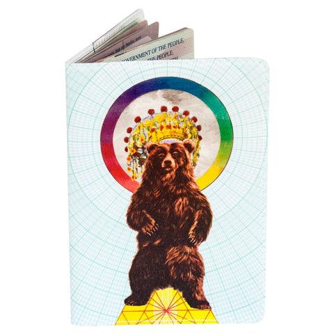 Magical Bear Passport Holder
