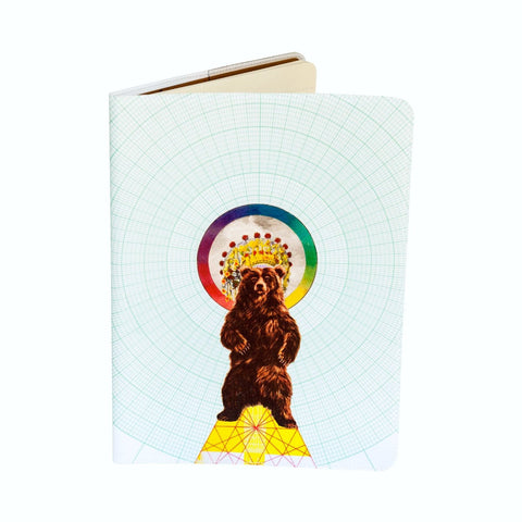 Magical Bear Extra Large Moleskine Cahier Covered Notebook